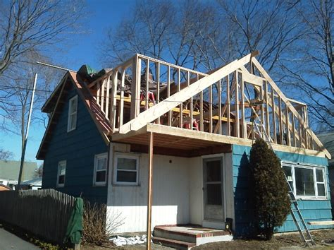 Shed Dormer Construction by Framing Dormers Pavolony Construction Inc