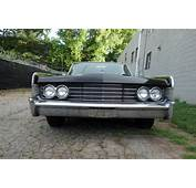 1965 Lincoln Continental Hardtop Suicide Doors Black On