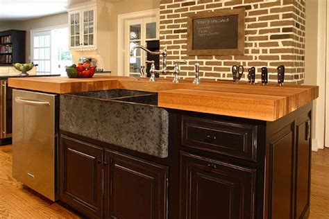 Undermount Kitchen Sink With Faucet Holes by The Original Oil Food Safe Butcher Block Oil Finish