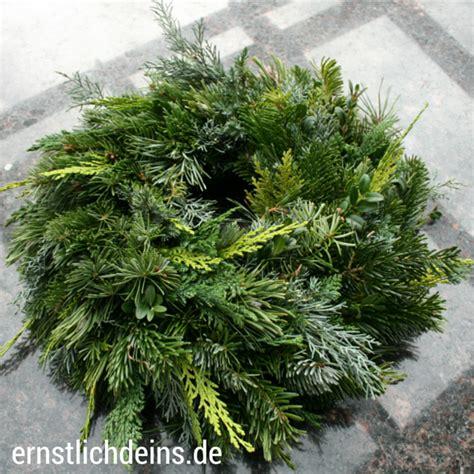 Adventskränze Binden by Adventskranz Binden Ernstlichdeins