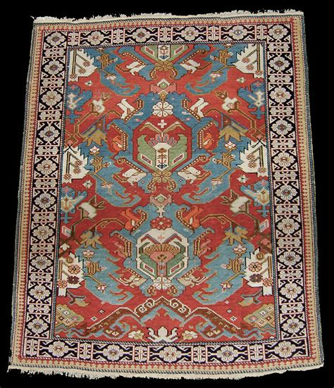 azerbaijan rugs antique caucasian kuba field rug with a floral design