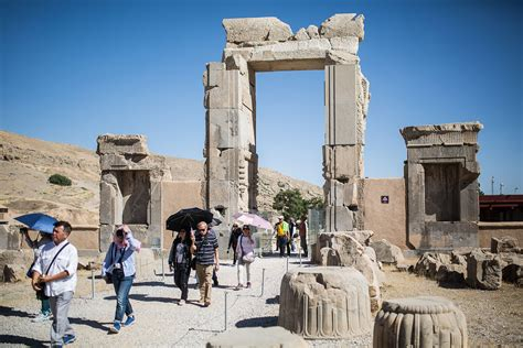 iran in persepolis iran tourism gateway faces climate threats