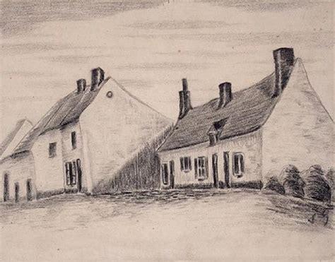 casa di gogh una casa zandmennik carboncino di vincent gogh 1853