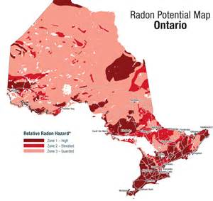 radon potential map canada fact sheet 3 niagara falls area radonfind