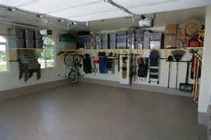 Garage Organization System - 5 tips for winterizing your garage monkey bar storage