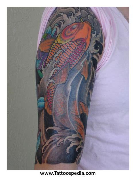 koi tattoo represent koi fish tattoo symbolism 1
