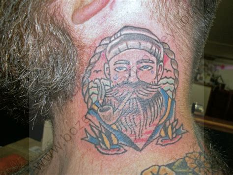 tattoo bozeman sailor with pipe and swallows bozeman s alley l