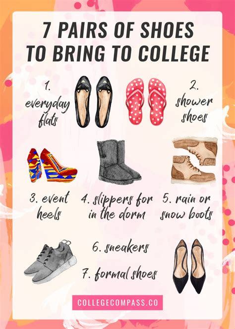 what should i bring to college for my room which clothes to pack for college college compass