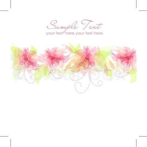 romantic flower background vector vector flower free vector free romantic flower background stock vector colourbox