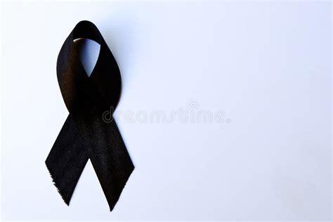 imagenes cinta negra luto cinta de luto negra foto de archivo imagen de negro