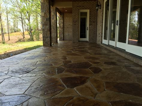 Decorative Concrete of Virginia, Stained Concrete, Stamped