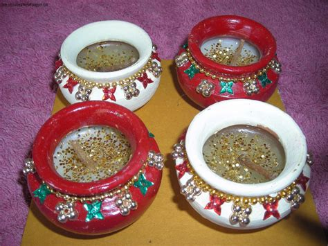 Diya Decoration For Diwali At Home Anu S Art And Crafts Diya Decoration