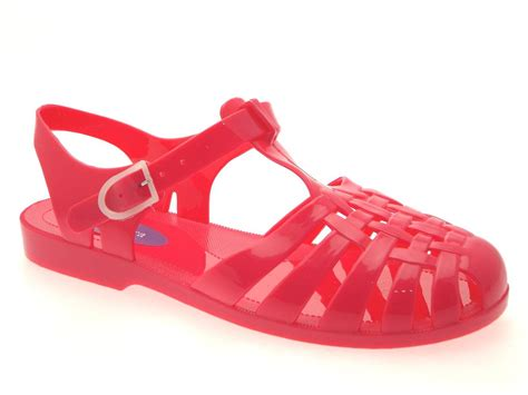 jellies sandals jelly sandals shoes chunky block heel diamante