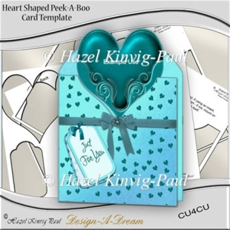 peek a boo card template shaped peek a boo card template 163 3 50 instant