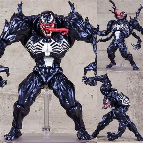 K Sq Venom 2 Kid venom revoltech marvel pvc figure toys collection