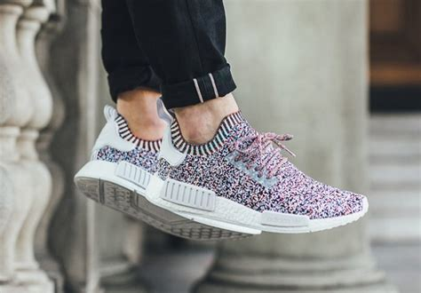 Adidas Nmd Tv Fuzz adidas nmd r1 color static bw1126 sneaker bar detroit