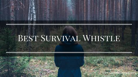best whistle best survival whistle canuck survival