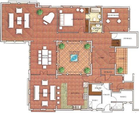 Spanish House Floor Plans by Mallorca The Villa Dubai Floor Plans
