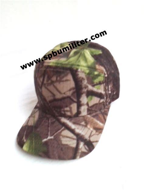topi loreng camo oak spbu militer