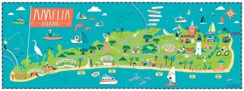 Stores To Buy Home Decor Amelia Island Illustration On Storenvy