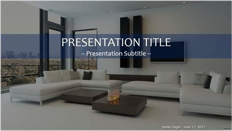 Free Interior Design Powerpoint 34470 Sagefox Powerpoint Templates Interior Design Presentation Templates