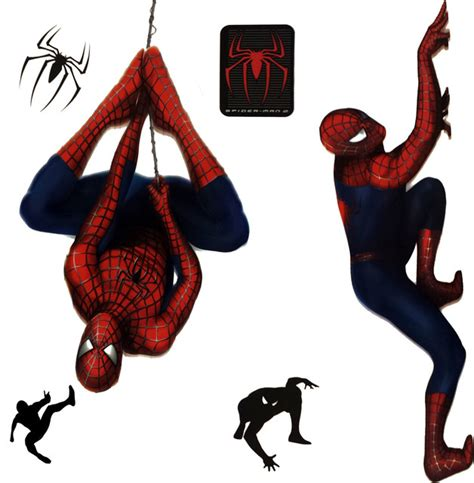 Tree Wall Mural marvel spiderman 2 stickers superhero self stick decals