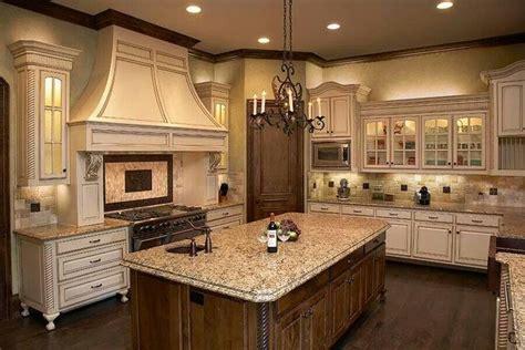 kitchen remodel with new venetian gold granite