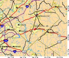snellville map snellville ga 30039 30078 profile population