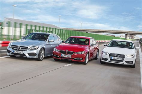 mercedes audi bmw audi bmw and mercedes running costs compared