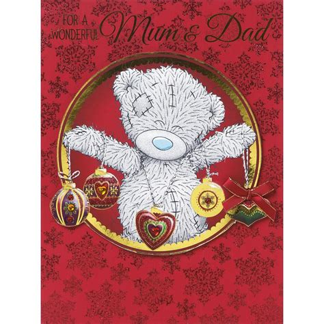 From Me To You Gift Card - mum mummy stepmum me to you bear christmas cards ebay