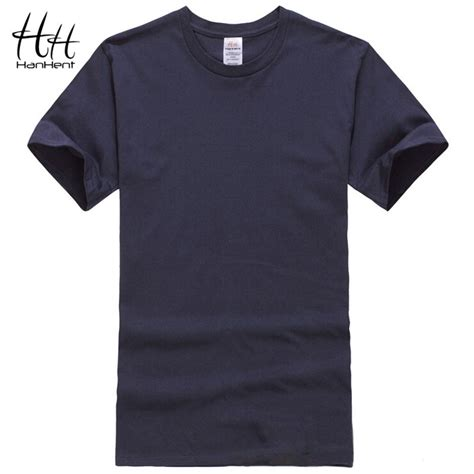 Plain Color T Shirt By Origin 1 hanhent cotton t shirts classical 2016 sleeve o neck solid color basic tshirt