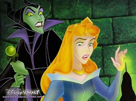 sleeping beauty images maleficent and aurora wallpaper and