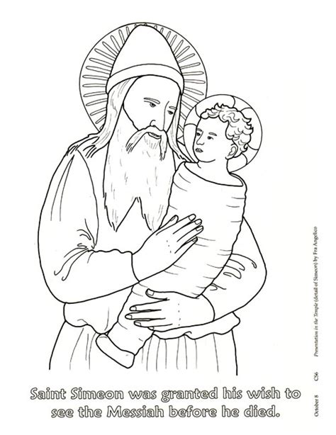 free coloring pages of communion of saints