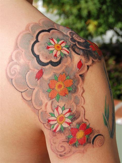 tattoo japanese sakura taukirknalo cherry blossom tree tattoos
