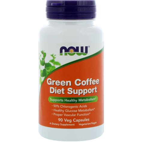 Green Coffee Slimming Coffee now foods green coffee diet support 90 veg capsules