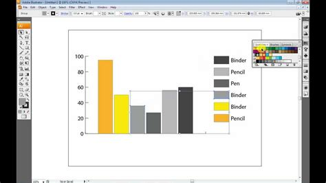 tutorial illustrator graph creating a graph within adobe illustrator youtube