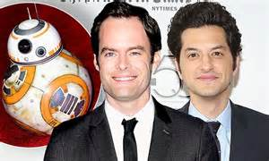 ben schwartz dewey bill hader and ben schwartz gave star wars the force