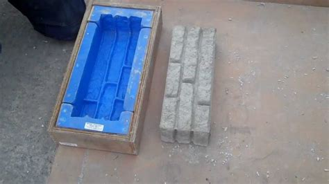 decorative concrete block mould demoulding an armcon decorative wall block youtube