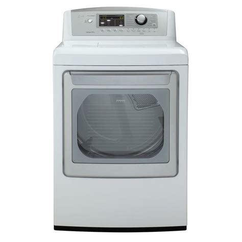 lg electronics dryer 7 3 cu ft electric dryer with