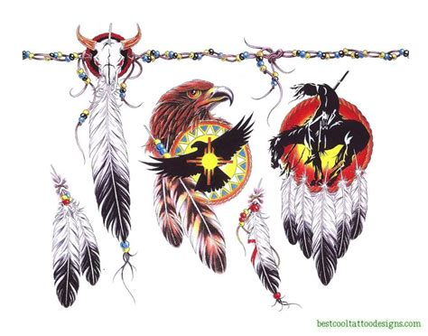 native american tattoo designs american designs