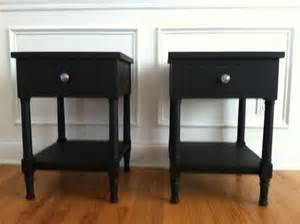 Black Nightstand With Drawers Made Black Nightstand With One Drawer And A Shelf By Katherine Park Custommade