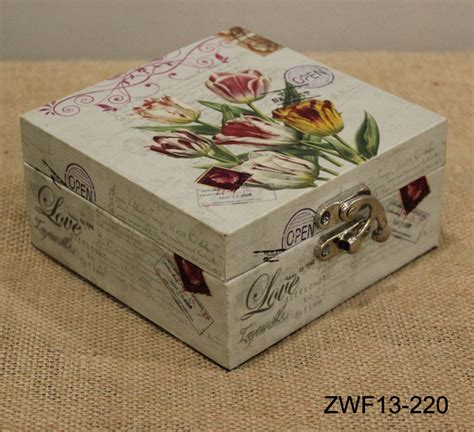Decorating Ideas For Jewelry Boxes Europe Style Wooden Jewelry Box Storage Box Antique Canvas