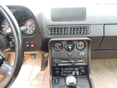 auto air conditioning service 1988 porsche 924 spare parts catalogs 1988 porsche 924s only 26532 miles