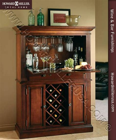 wine and bar cabinet 690006 wine and bar cabinet cherry wooden wine rack