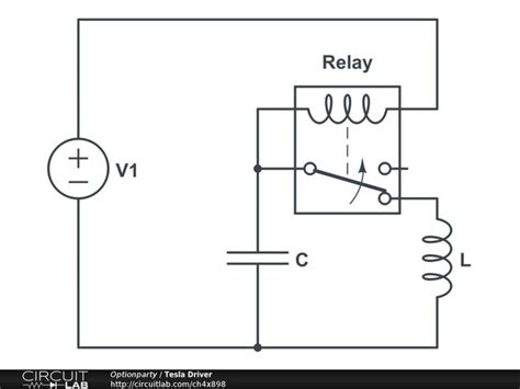 capacitor oscillation frequency variable frequency oscillator using relay and capacitor all