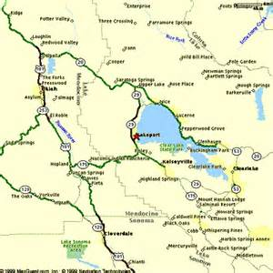 clear lake map california lakeport motel the chalet for vacations and rentals