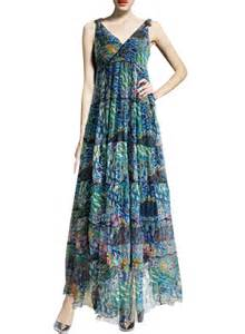 summer dress s v neck sleeveless summer printed maxi dress oasap