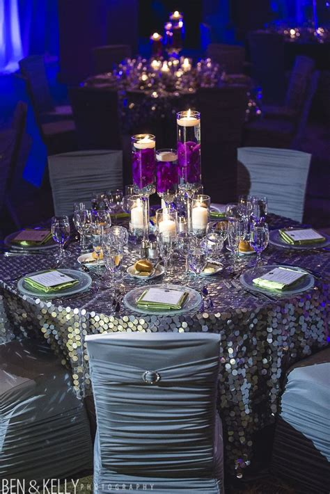purple and gray wedding centerpieces 1249 best table design linens chairs images on