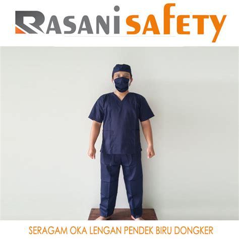 Baju Jaga Baju Oka Lengan Panjang seragam oka lengan pendek biru dongker harga baju operasi