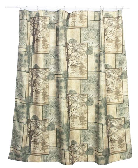 cabin shower curtains cabin shower curtains adirondack pine bath set 5 lodge